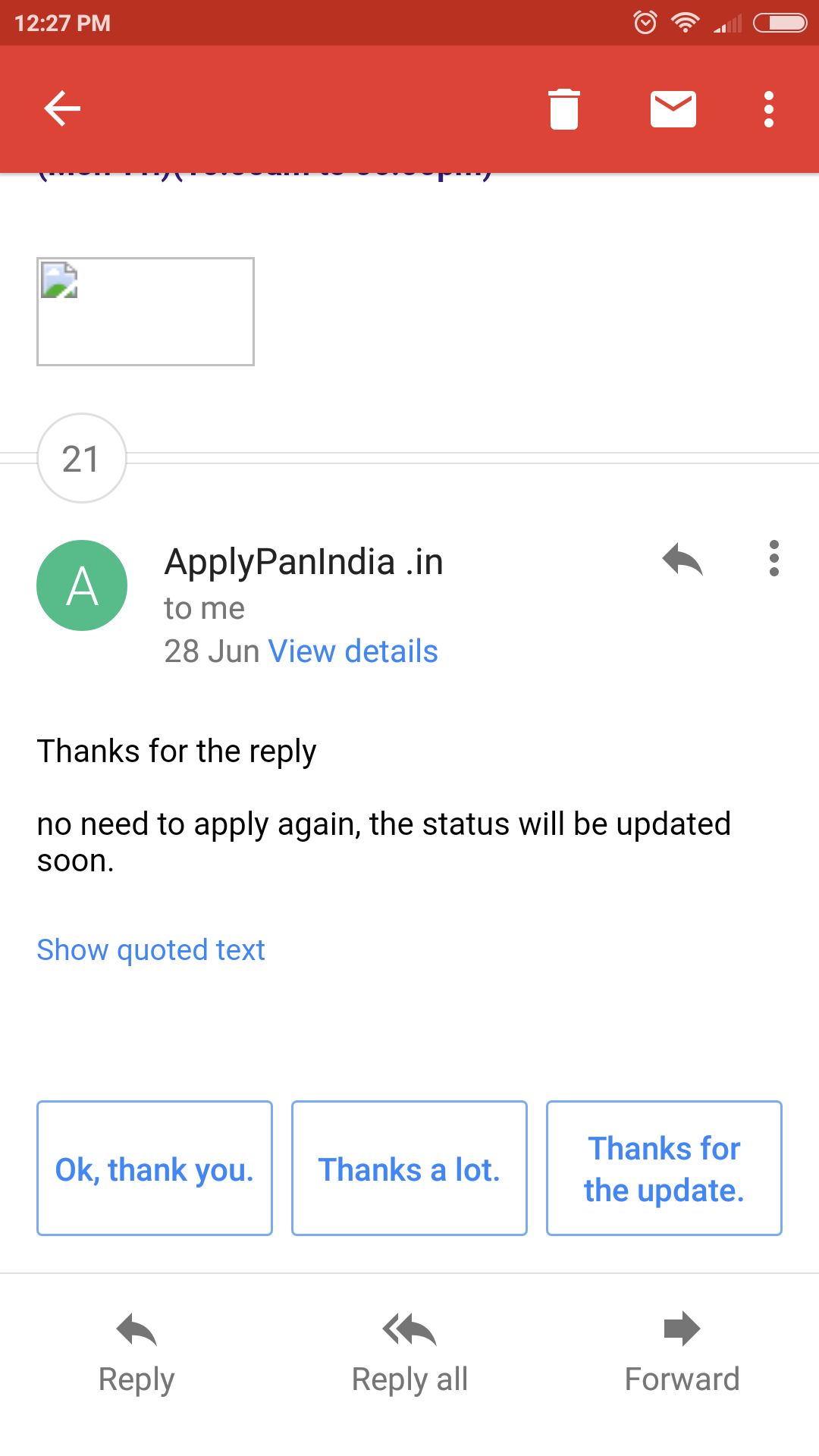 Applied for pan card from February and havent received yet