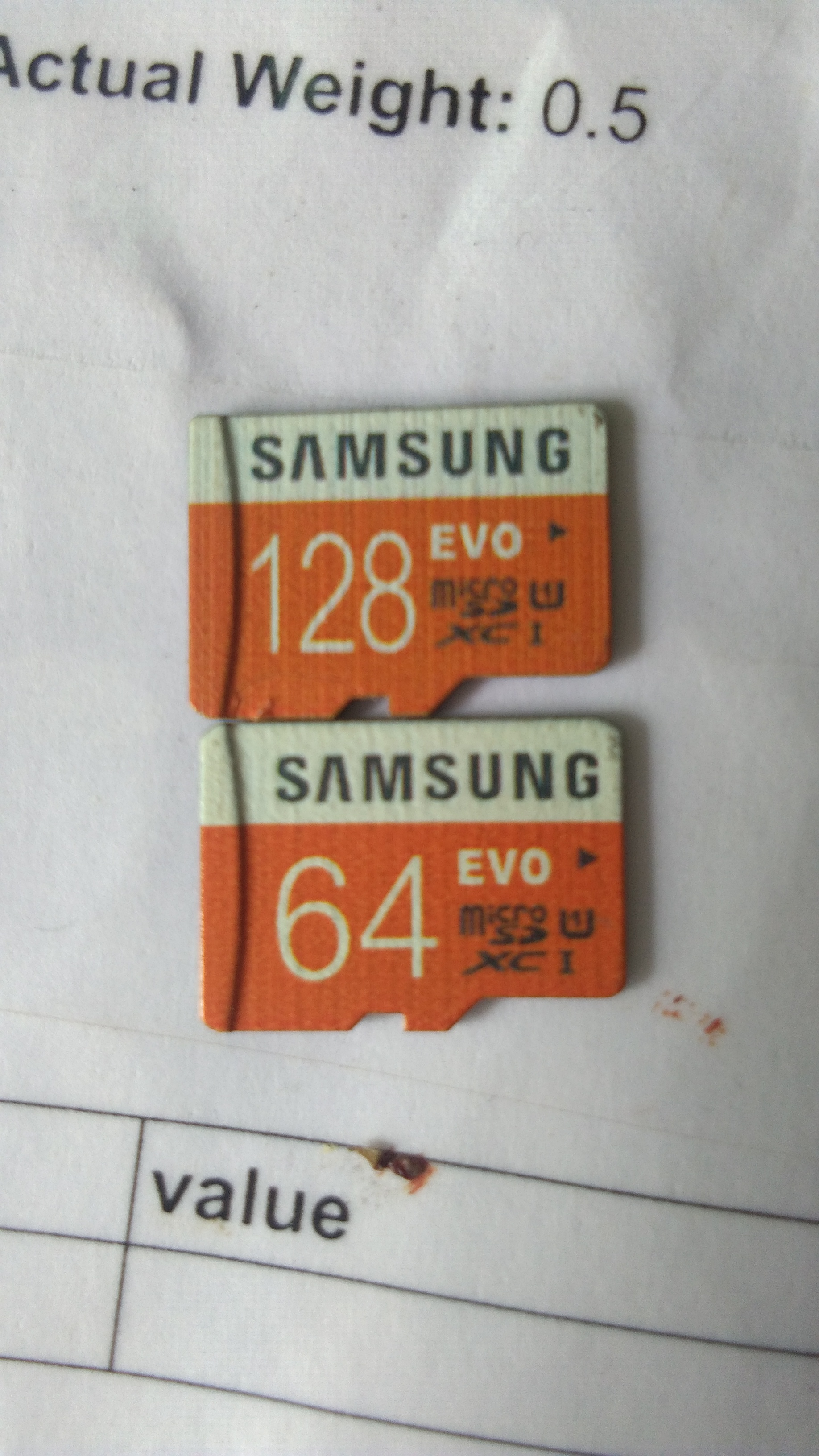 Evo 64 GB and 128 GB MICROSDHC Class 10 48MB s Memory Card