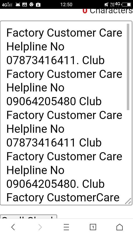 club factory helpline number 7873416411