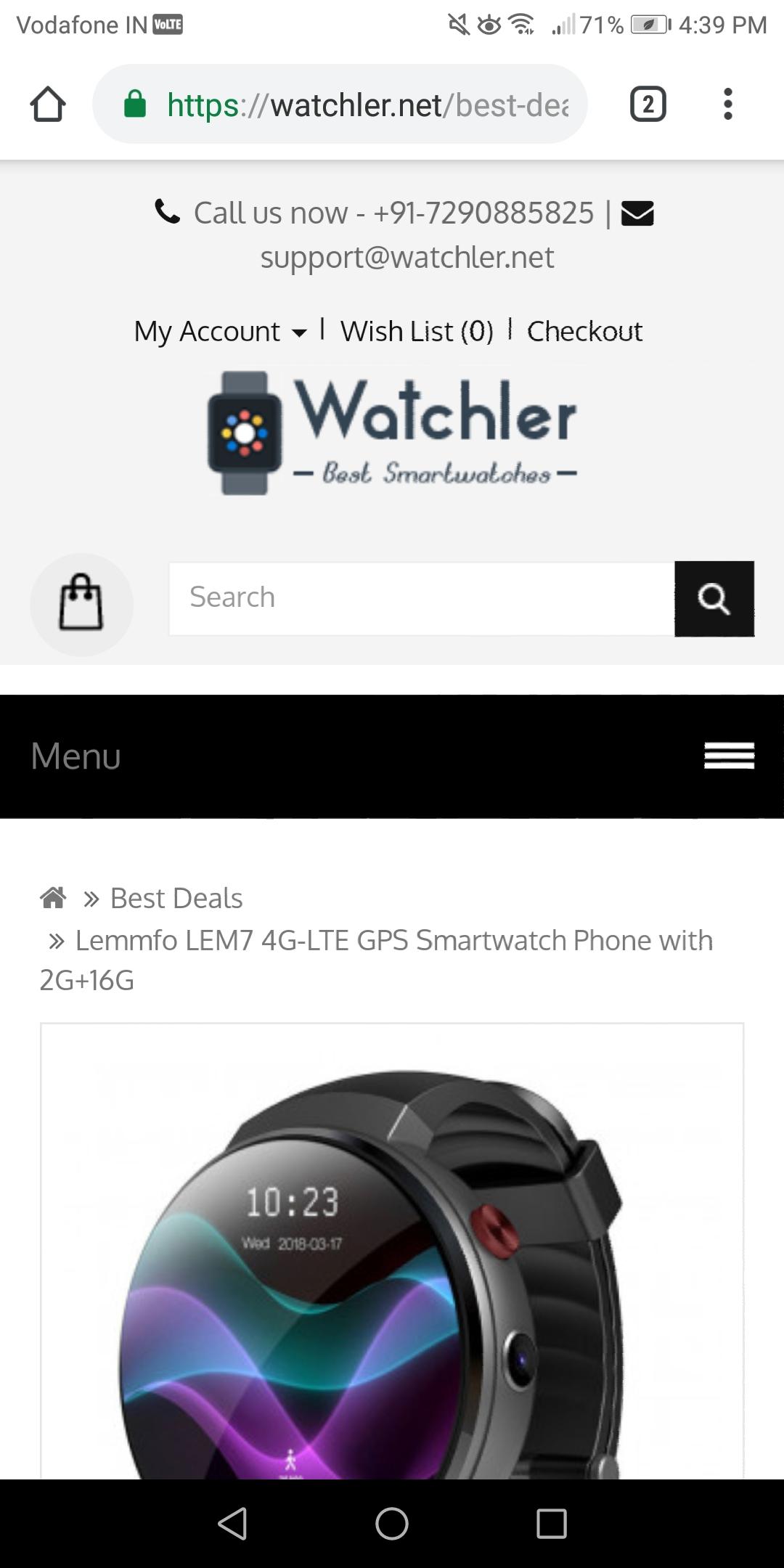 Received fake smartwatch