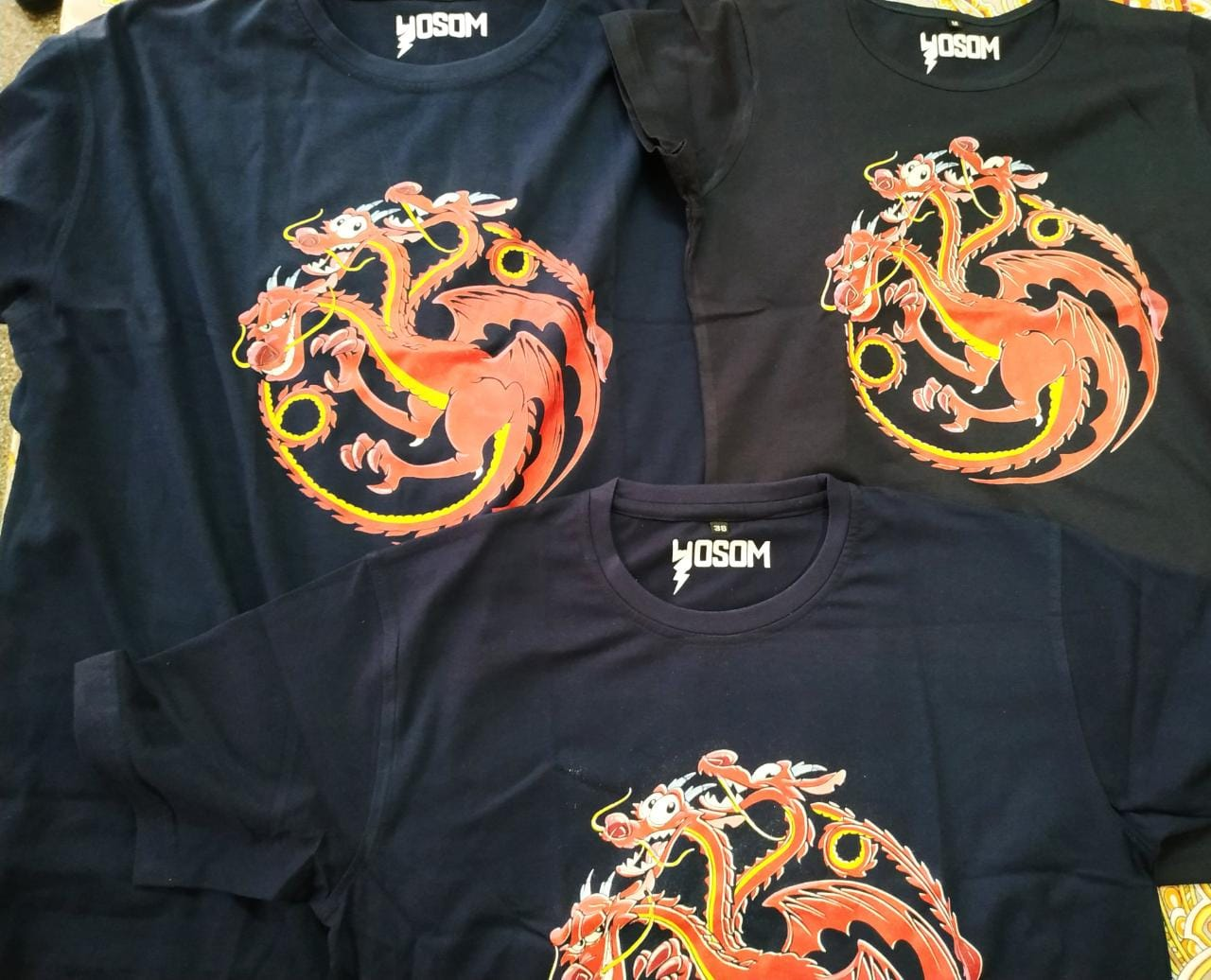 Poor and fake T-shirts sold on osom.in website