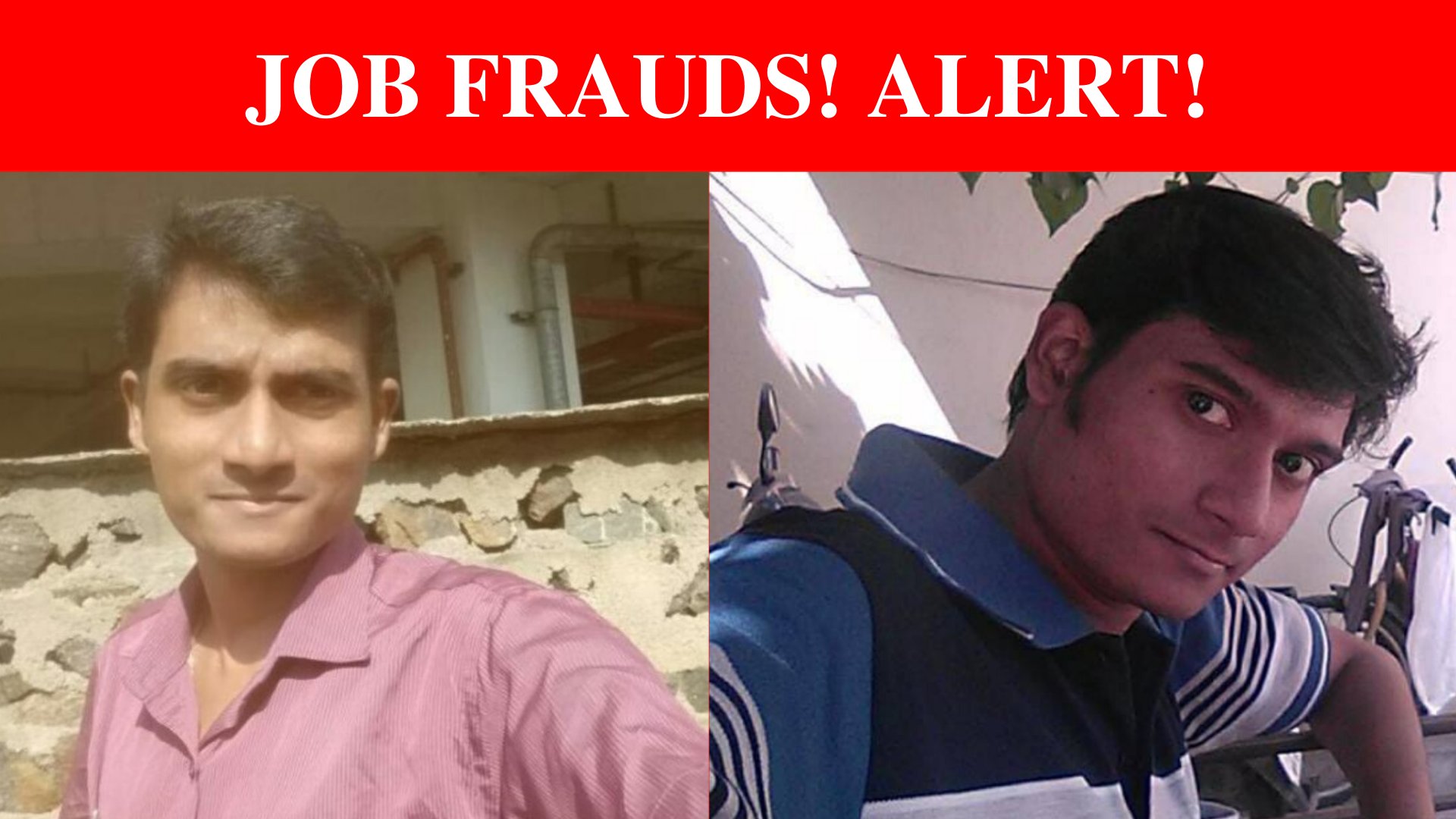 Be aware of these frauds  Frauds Mathioli and Mathew have already cheated Rs. 65 lakhs